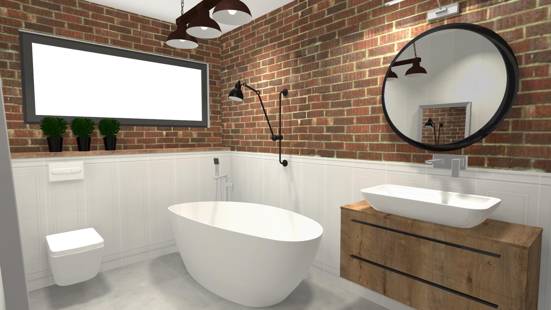 Salon kąpielowy w mieszkaniu