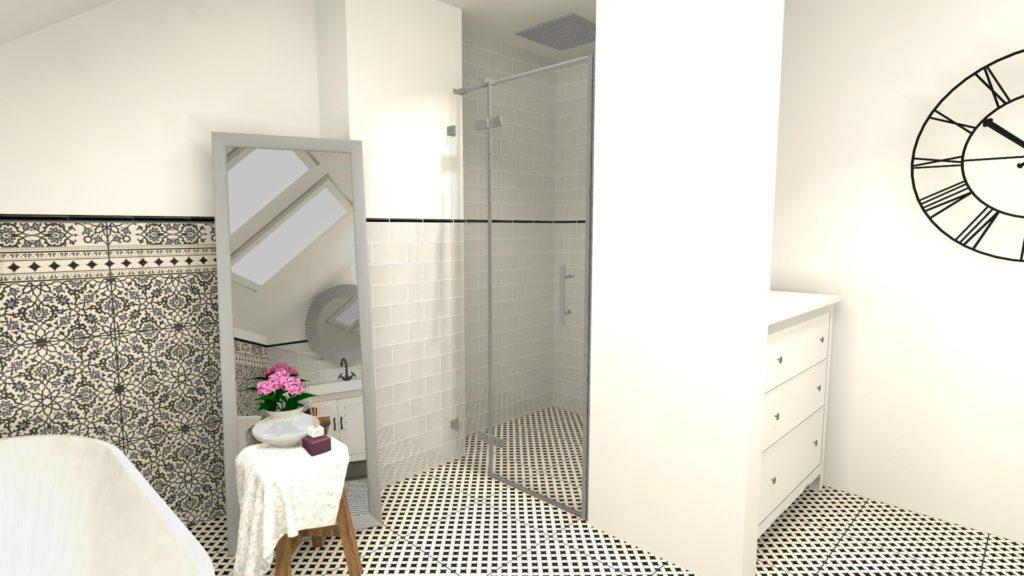 Komoda w łazience