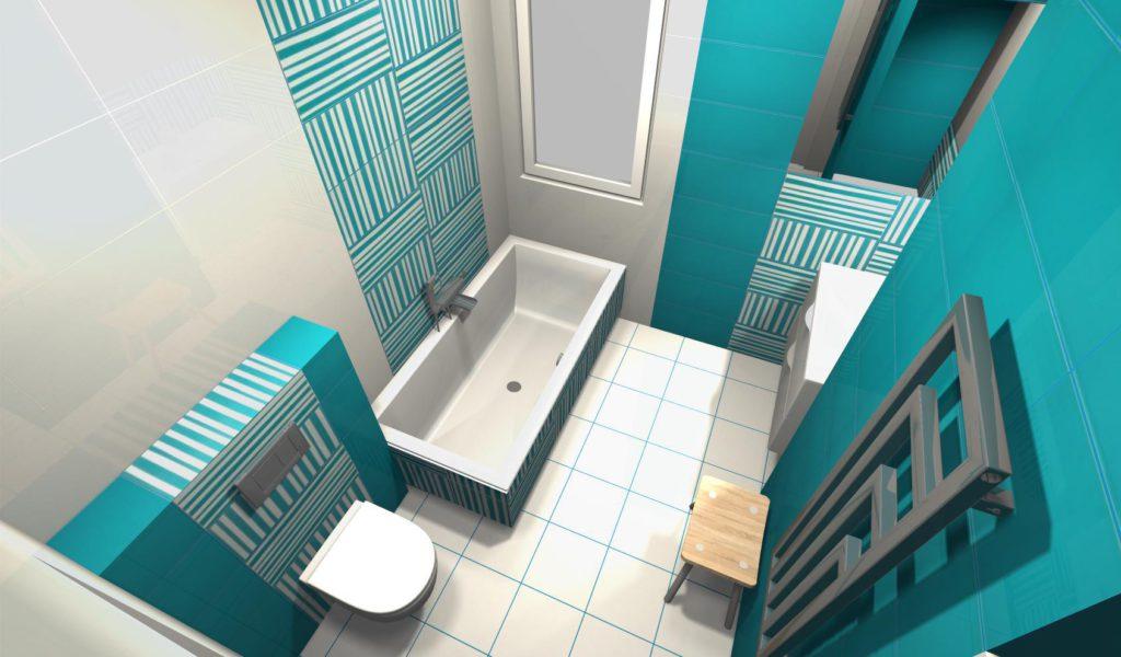 Kolorowa łazienka dziecięca