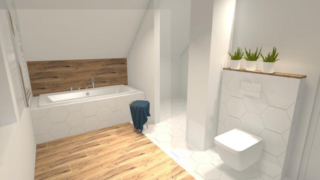 Zabudowa wanny w łazience