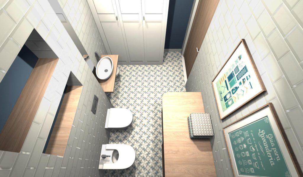 Szafa w łazience