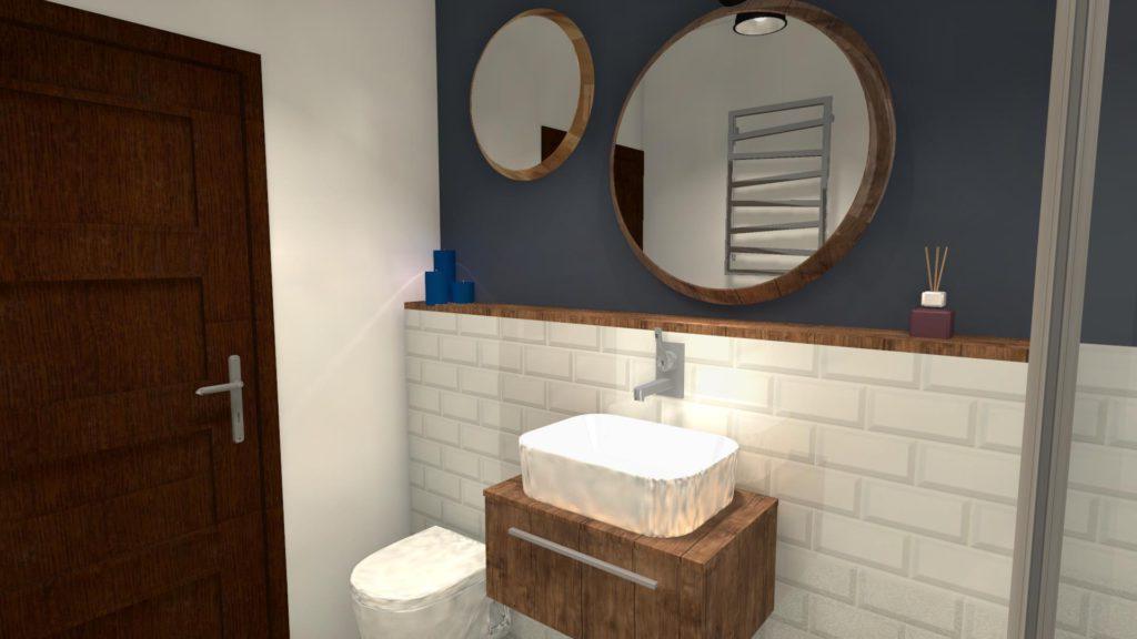Zabudowa wc w łazience