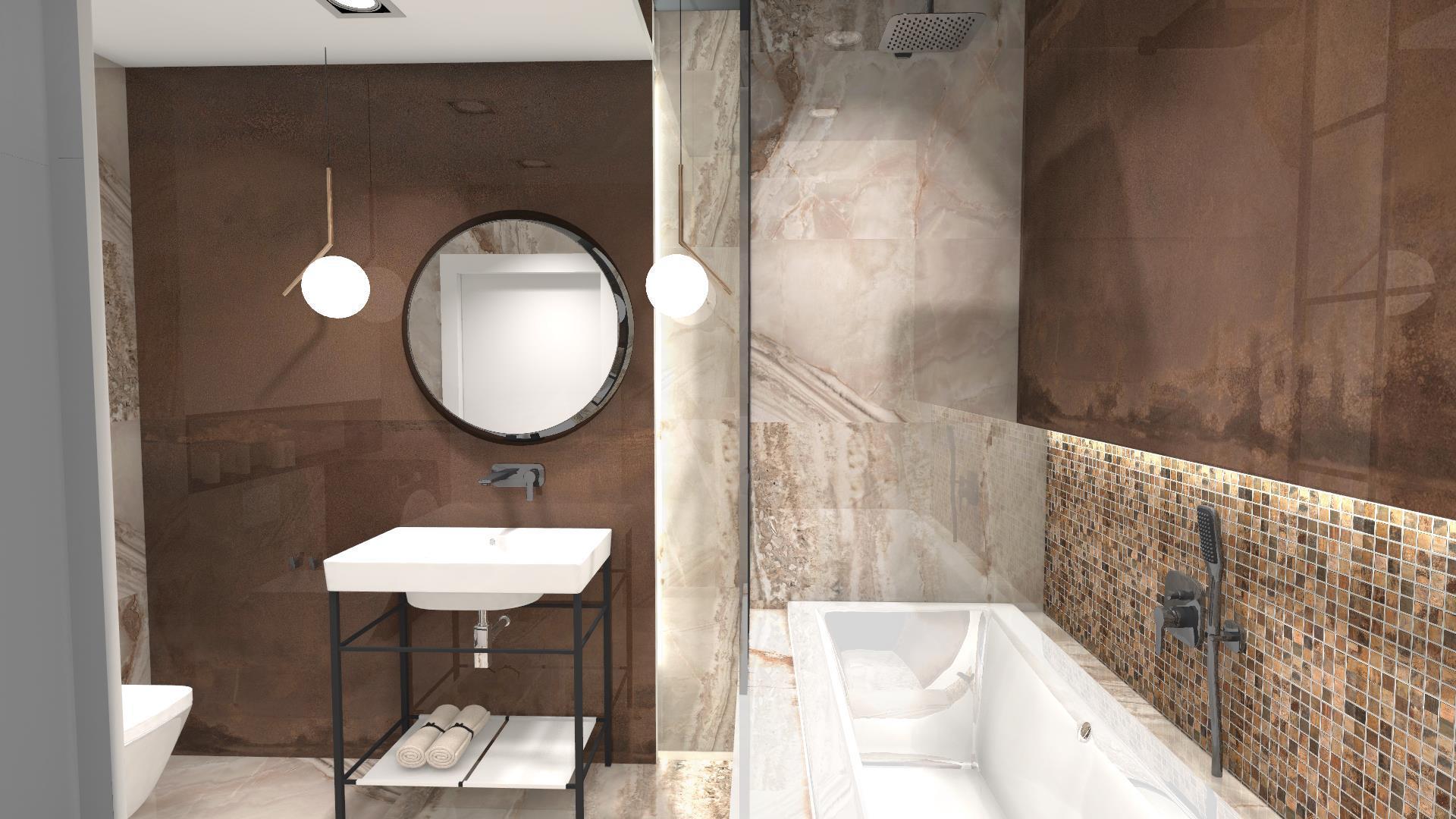 Kamienne płytki łazienkowe
