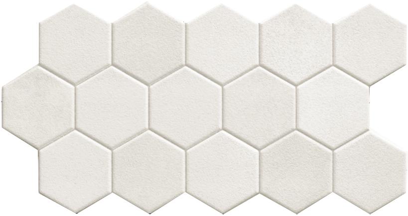 Płytka Hex White 26,5x51