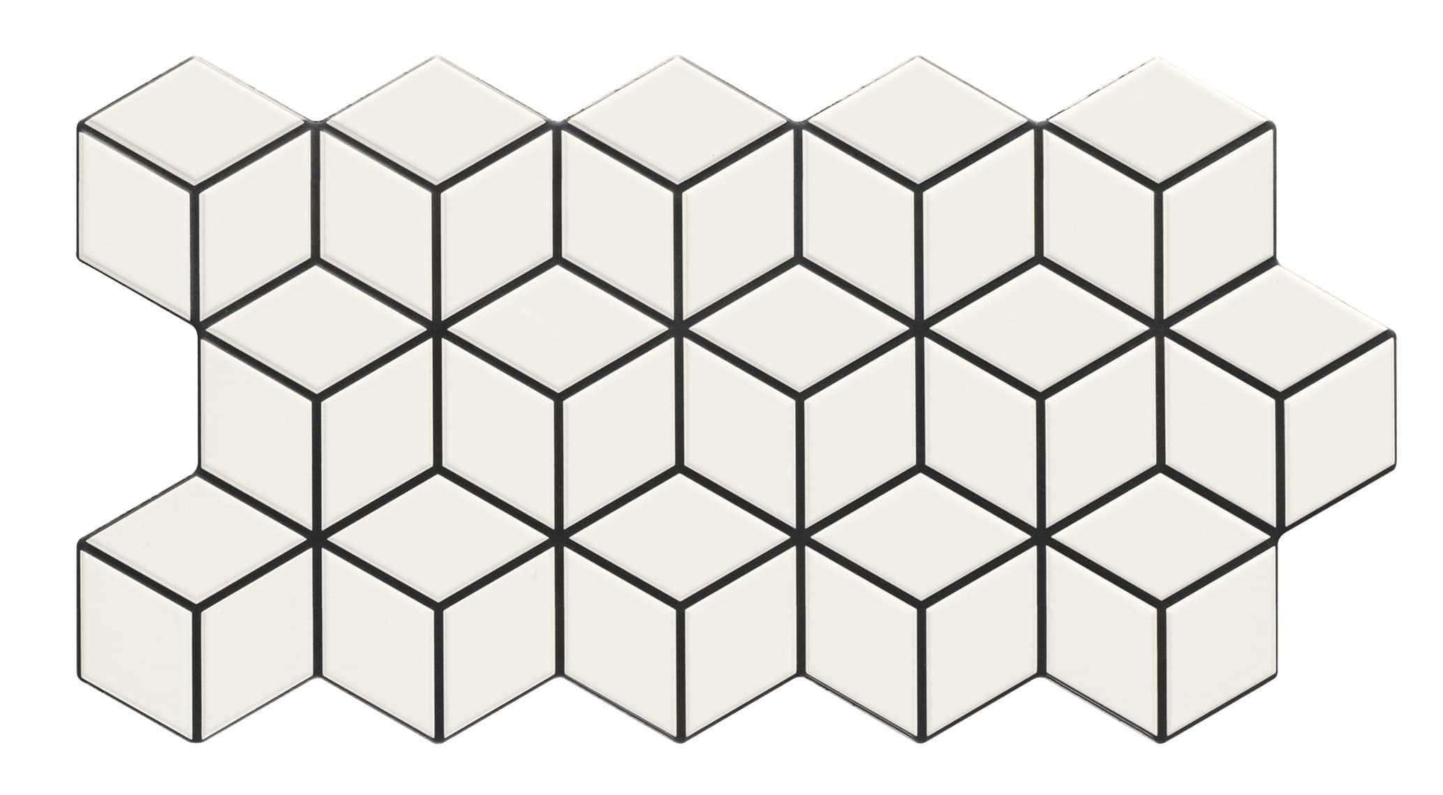 Płytka Rhombus Snow 26,5x51